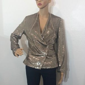 IRO Chill Double-Breasted Jacket Size 38/16 W